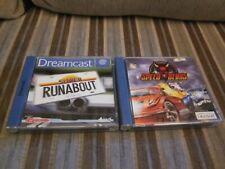 Speed Devils und Super Runabout Sega Dreamcast Spiele