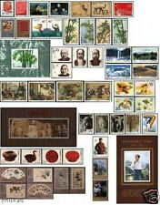 China 1993 Full Year Issued - 49 Stamps+3SS MNH