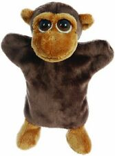 "10"" Mario Monkey Soft Baby Toy Plush Hand Puppet - Lil Peepers"