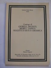 SOTHEBY - GIOIELLI ARGENTI MOBILI TAPPETI CERAMICA - FIRENZE 15/16 DICEMBRE 1982