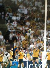 Jonny Wilkinson-Inglaterra Rugby Leyenda-Brillante Color acción Fotografía