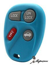 New Teal GM Replacement Keyless Entry Car Remote Key Fob 4 Button + Programming