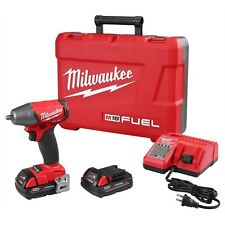"""Milwaukee M18 FUEL 18 Volt 3/8"""" Drive Compact Impact Gun Wrench 2754-22CT"""
