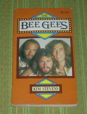 THE BEE GEES  KIM STEVENS  SCHOLASTIC BOOKS  1978  B/W PHOTOS  PAPERBACK