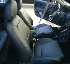 ACURA INTEGRA 1990-2001 IGGEE S.LEATHER CUSTOM FIT SEAT COVER 13COLORS AVAILABLE
