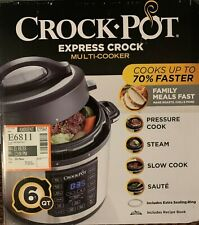 Crock-Pot Express Multi-Cooker 6-Quart - preasure cooker