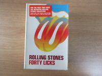 Rolling Stones - Forty Licks 2002 Korea 2 Cassette Tape SEALED NEW RARE BOX SET