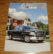 Original 2016 Dodge Ram Truck 1500 Deluxe Sales Brochure 16