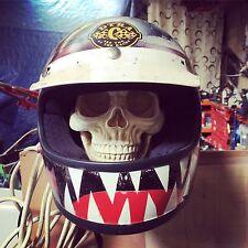 Soporte de Casco De Cráneo Casco De Moto Crash Sombrero Rack