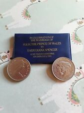 COLLECTORS COINS TO CELEBRATE MARRIAGE OF PRINCE OF WALES AND LADY DIANA