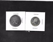 1967  very high ms grade 25 cent and fifty cent  silver coins