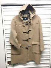 Burberry Wool Duffle Coat Hoodie Women Jacket Sz 10 Reg England