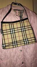 BURBERRY CLASSIC NOVA CHECK TOTE SHOULDER BAG ,Leather Handle, Tote Handbag