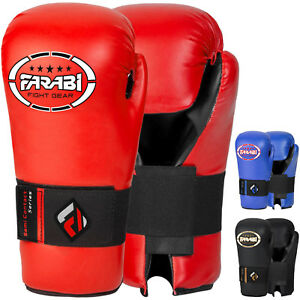 Farabi Kickboxing Semi Contact Gloves for Training Punching Sparring Gloves
