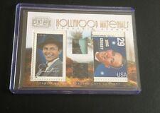 2010 Panini Century Hollywood Dual Relic Stamps Frank Sinatra Bing Crosby Nice