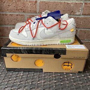 Nike Dunk Low X Off-White Dear Summer 13 of 50 Size 10 DJ0950-110