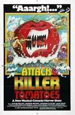 Attack Of Killer Tomatoes Poster 01 A4 10x8 Photo Print