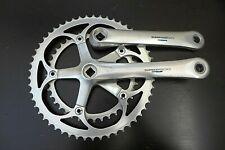 New listing VTG SHIMANO 600 Tri Color Crankset FC-6400 170mm ROAD Bike Crankset JAPAN
