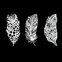 Feather Metal Cutting Dies DIY Scrapbooking Album Embossing Mold Craft Stencil