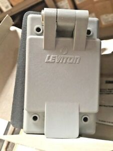 (K) Leviton Weather Resistant Flanged Outlet 15679-CWP