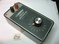 Heathkit IN-22 Condenser Capacitor Substitution Box Test - Vintage Untested Used