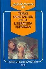 Temas constantes de la literatura española. ENVÍO URGENTE (ESPAÑA)