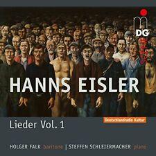 Holger Falk Steffen Schleiermacher - Hanns Eisler Lieder Und Balladen Vol 1 [CD]