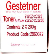 Genuine Geststner 2960372 Toner for Geststner 2320/2222 Copier (2) Per Box!