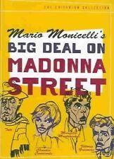 Criterion Collection Big Deal on Madonna Street DVD Region 1 037429155424