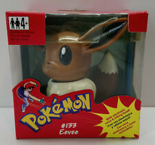 2000 POKEMON #133 EEVEE WITH ELECTRONIC VOICE & TILTING HEAD EUROPEAN MOSC NEW