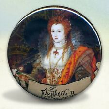 Queen Elizabeth I Tudors Rainbow Portrait Royality Pocket Mirror tartx