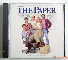 1994'S COMPACT DISC, THE PAPER, MUSIC FROM THE MOTION PICTURE