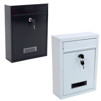 External Large Mail Post Letter Box Letterbox Mailbox Postbox Outdoor Outside