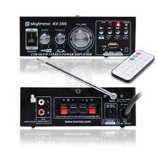 AMPLIFICATORE 103.142 AV-360 KARAOKE AMPLI. FM/USB -Cod.550923786- Skytronic