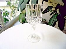 Set of 6 Cris D' Arques Longchamp Clear Crystal Wine Glasses Multiple Available