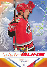09/10 UPPER DECK TOP GUNS #TG4 ERIC STAAL HURRICANES *9051
