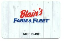 Blain's Farm & Fleet White Boards Gift Card No $ Value Collectible