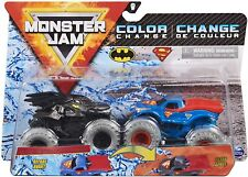 """Monster Jam 2020 """"Reveal The Steel Color Change 1:64 Scale Diecast 2-Pack: Batma"""