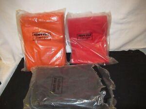 """Craft Felt Sheets Orange Black Red 12"""" by 8 1/2"""" Huge Lot (F218)"""