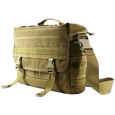 "Flyye Army Tactisch Verzendzakje Notebook Case 15 ""17"" Laptop Tas Molle Coyote"