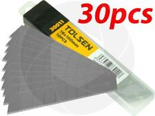 30pc Heavy Duty 18x100mm Snap-Off Sharp Craft Cutter Knife Replacement Blades