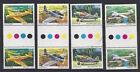 Australia 1980 Aircraft Gutter Pair Stamp Set