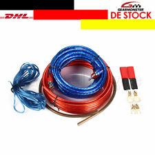 Verstärker Kabelsatz Anschluss Set Endstufe Amplifier Car Hifi komplett 10mm²