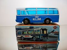 WOOLBRO HONG KONG 444 BEA AIRLINE BUS - KLM - BLUE L13.0cm FRICTION - IN BOX