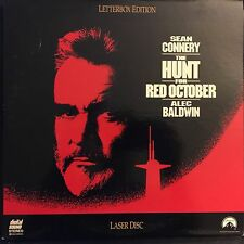 HUNT FOR RED OCTOBER (THE) WS CC CLV NTSC LASERDISC Sean Connery, Alec Baldwin