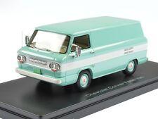 Neo Chevrolet Corvair Box Van 1963 Light Turquois/White 1:43 46527
