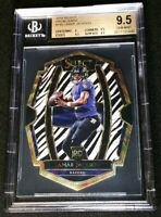 BGS 9.5 1/1 LAMAR JACKSON RC SSP CASE HIT ZEBRA PRIZM 2018 Select Die-Cut Rookie