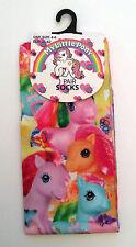 Primark Ladies MY LITTLE PONY Colourful Multi Pony Socks One Size Retro Toy