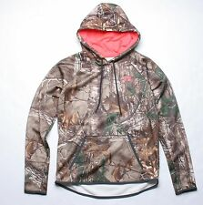 Under Armour Women Icon Camo Hoody (S) Brown