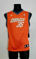 ADIDAS NBA Basketball Jersey Orange Charlotte Hornets Adam Morrison Youth size L